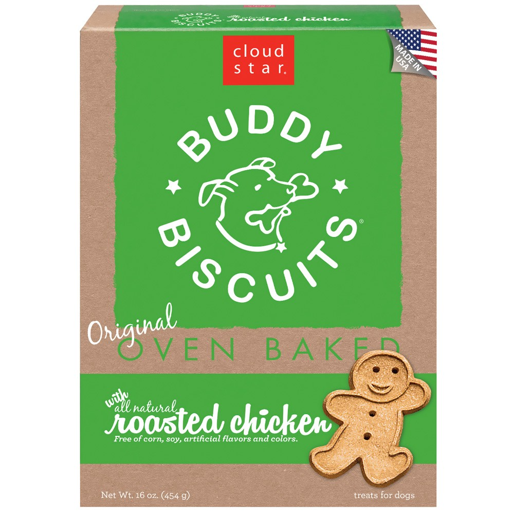 Cloud Star Original Buddy Biscuits Dog Treats Roasted Chicken (16 oz) CLOUD12300