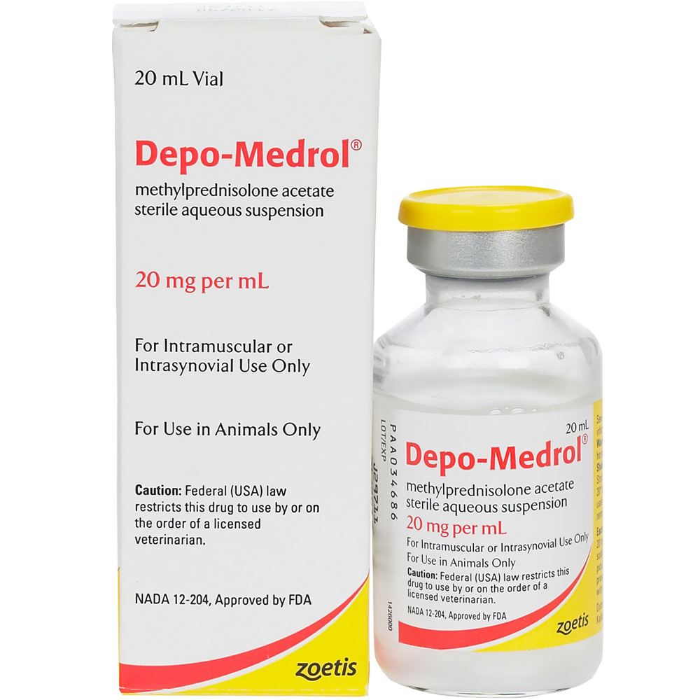 Depo-Medrol 20mg/ml Injectable 20ml (Manufacture may vary)