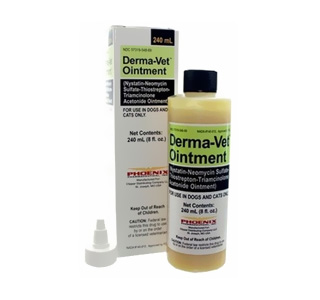 Derma-Vet Ointment 240 mL (Manufacture may vary)