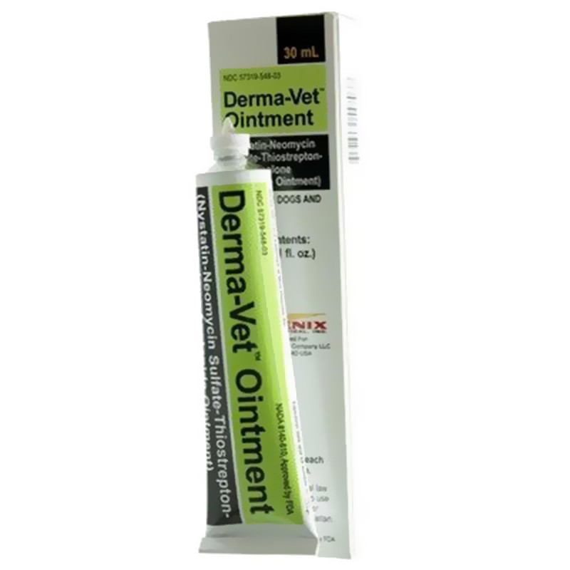 Derma-Vet Ointment 30 mL (Manufacture may vary)