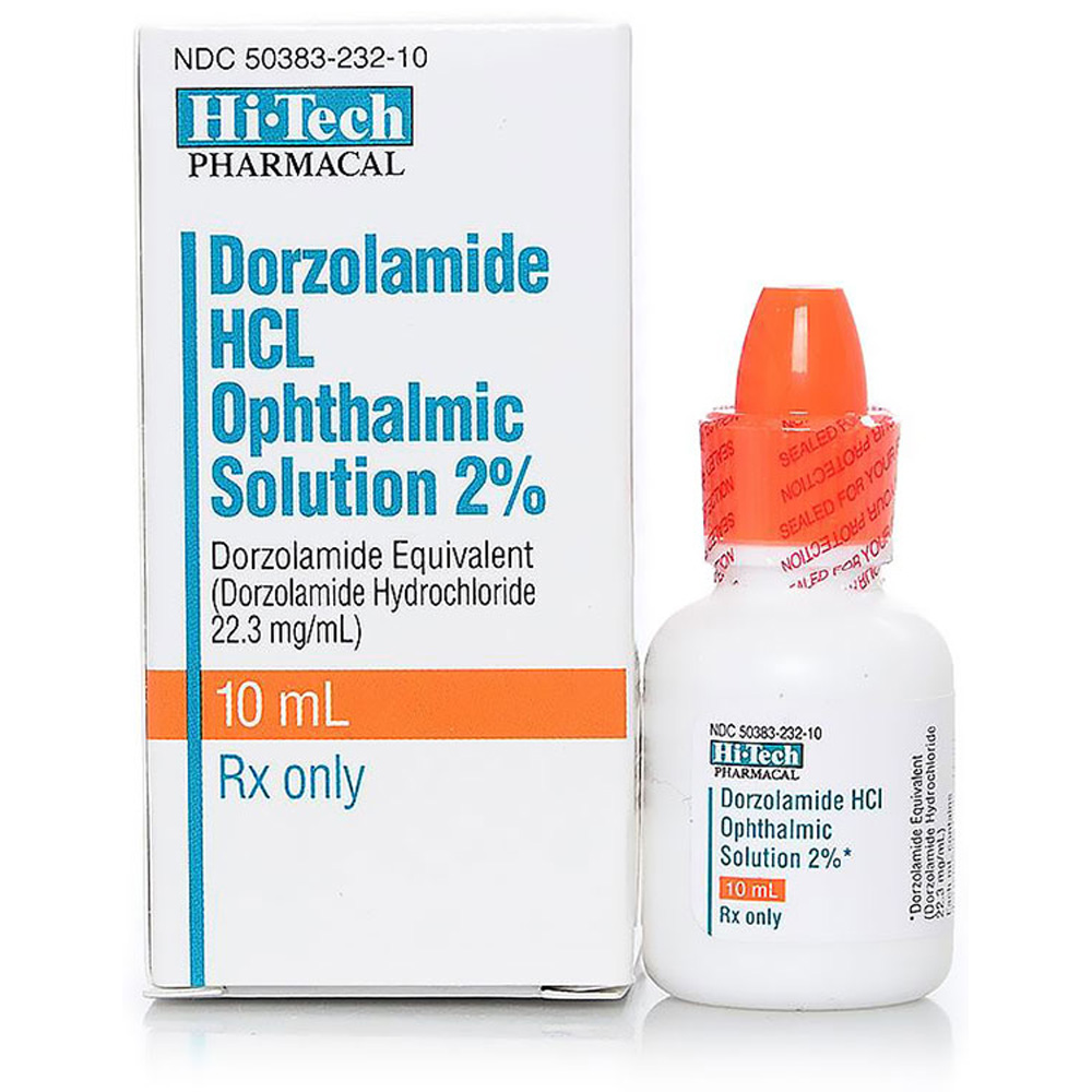 Dorzolamide HCl 2% 10ml (Manufacture may vary)