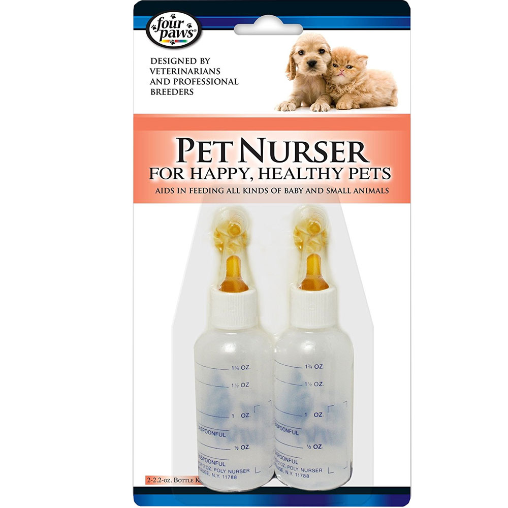 Four Paws Pet Nurser Bottles for Baby and Small Animals FP25000