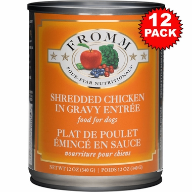 Fromm Shredded Chicken Canned Dog Food