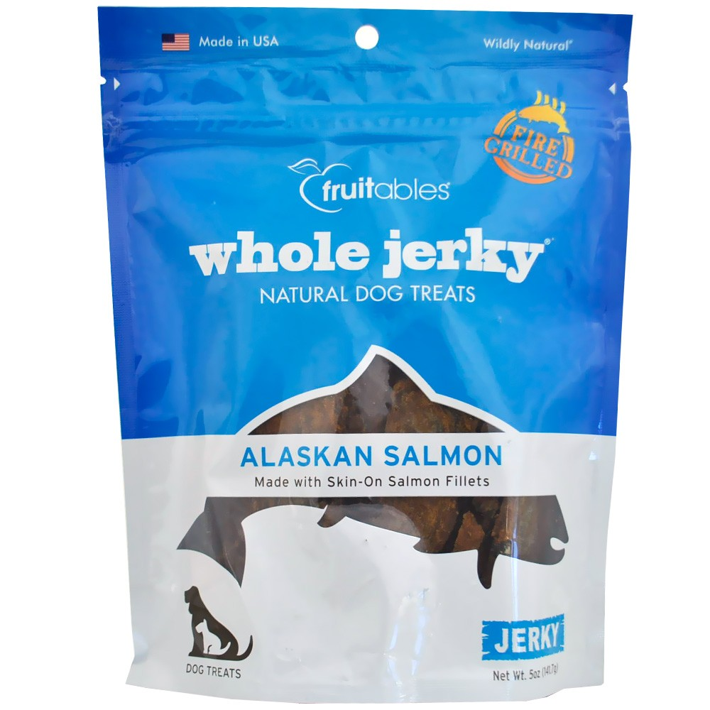 Fruitables Whole Jerky Dog Treats - Alaskan Salmon (5 oz) FRUIT2584