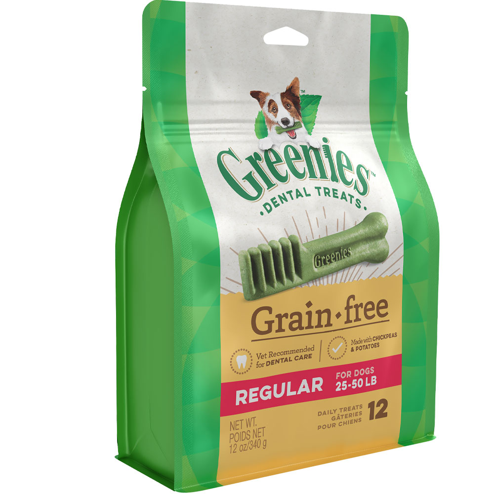 GREENIES Grain Free Treat-Pak - REGULAR 12 Treats (12 oz) 10122354