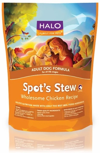 HALO Spot's Stew Wholesome Chicken Dry Adult Dog Food (15 lb) 8380108