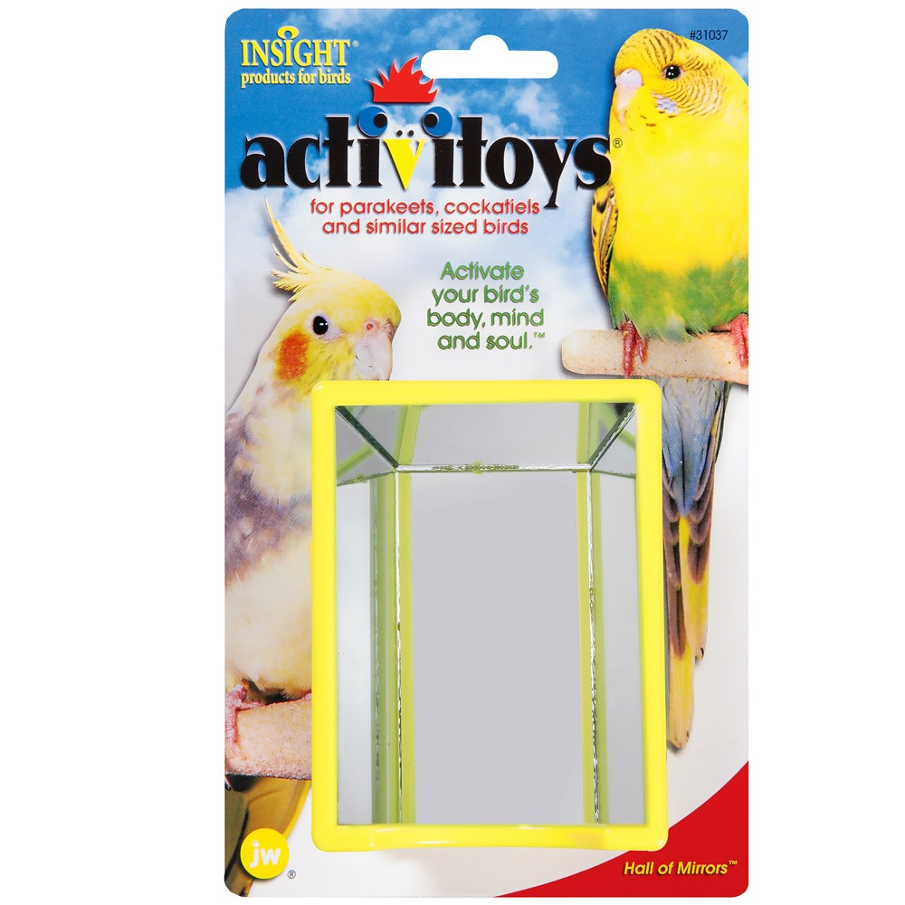 JW Pet Activitoy Hall of Mirrors Bird Toy 31037