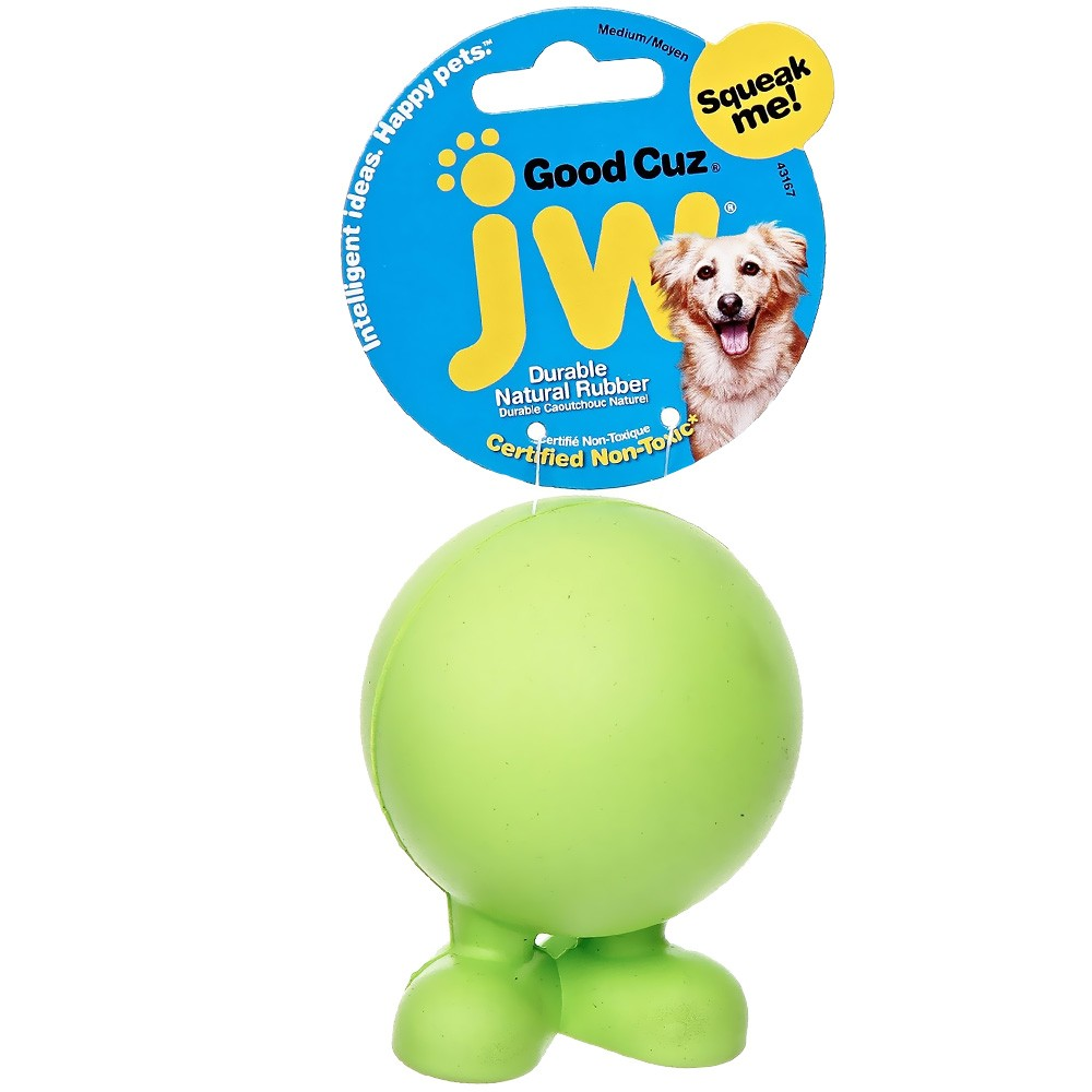 JW Pet Good Cuz Dog Toy - Medium (Assorted) JW43167