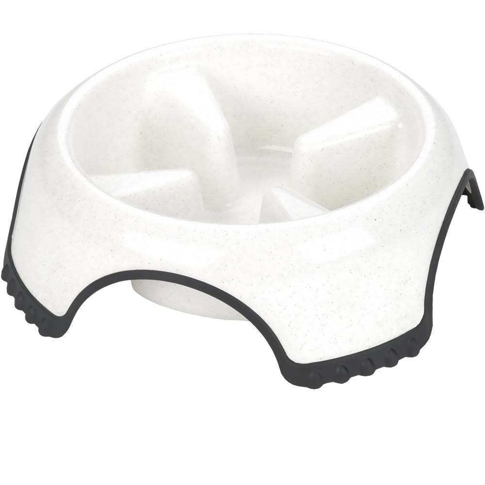 JW Pet Skid Stop Slow Feed Bowl (Large) - Assorted JW63241