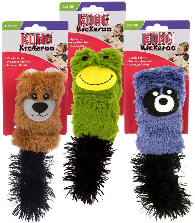 KONG Cat Cozie Kickeroo (Assorted) CZ42