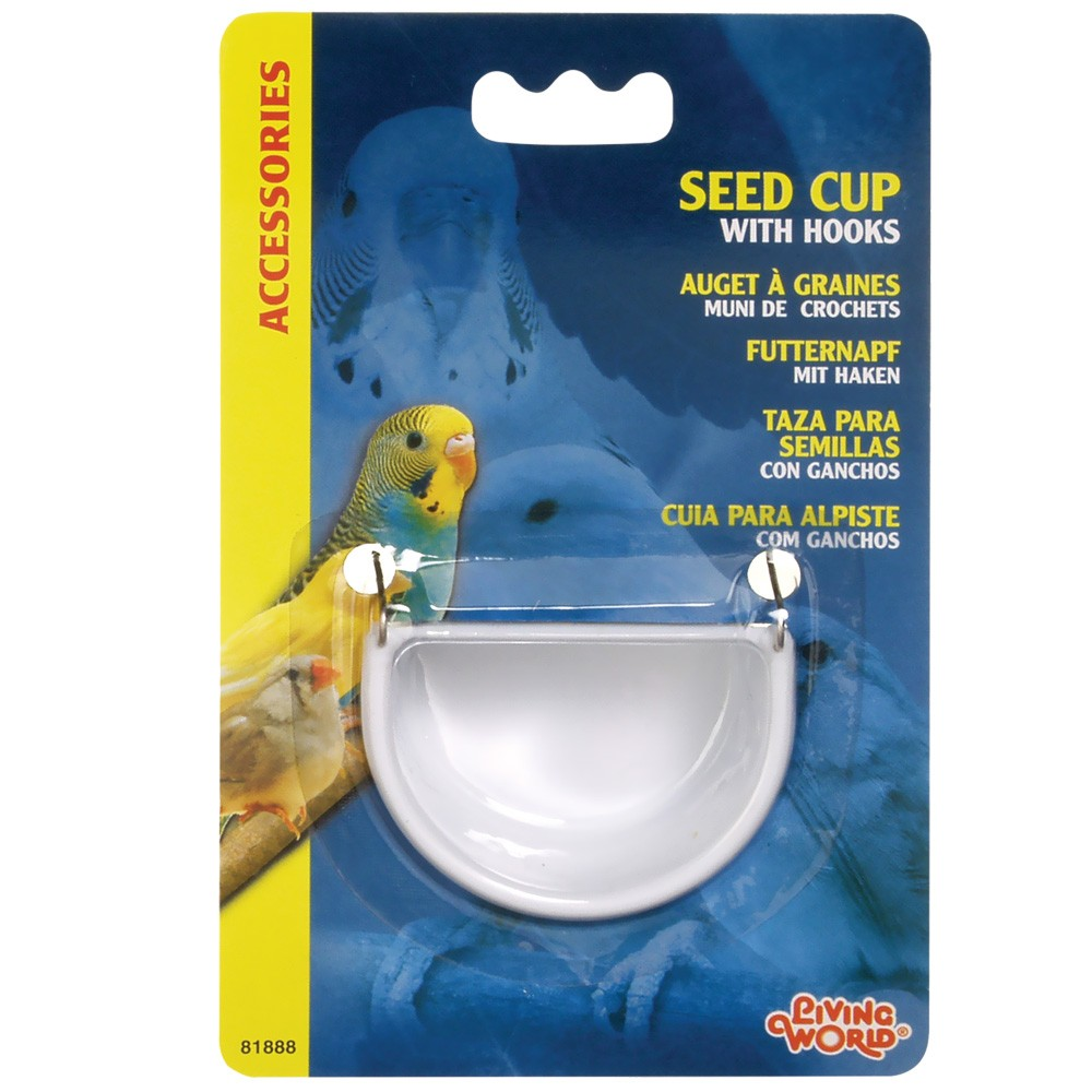 Living World Seed Cup with Hook - Large 81888