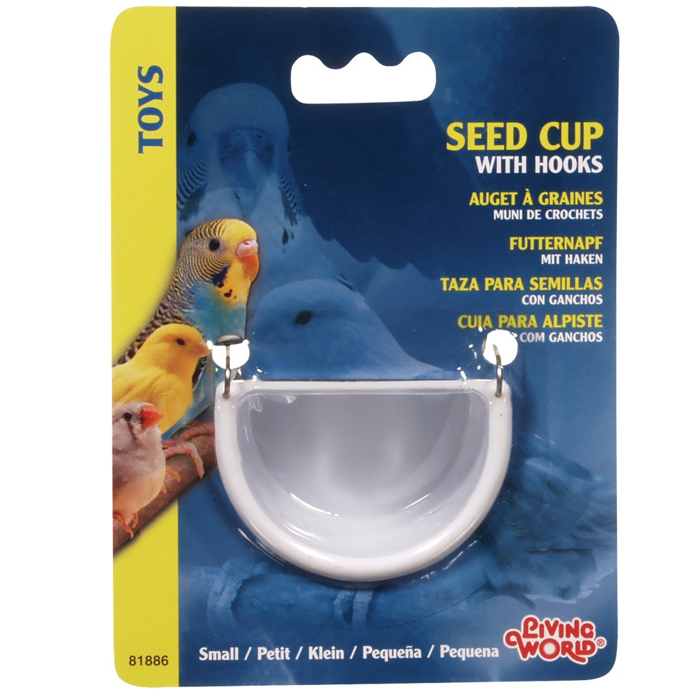 Living World Seed Cup with Hook - Small 81886