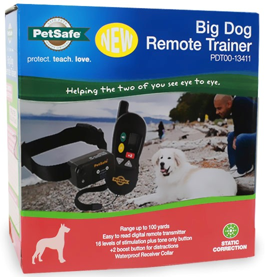 PetSafe Remote Trainer - FOR BIG DOGS (OVER 40 lbs.) PDT00-13411