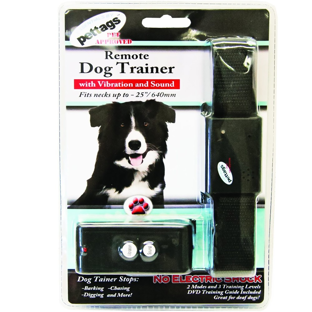 Pettags Sonic & Vibration REMOTE DOG TRAINER (One Size Fits All) RDT1-OSFA
