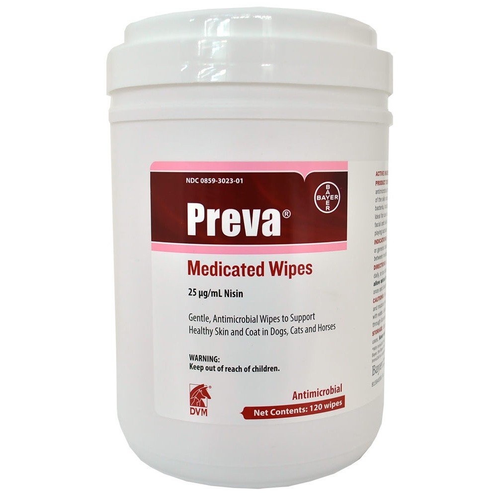 Preva Medicated Wipes (120 count) 84958