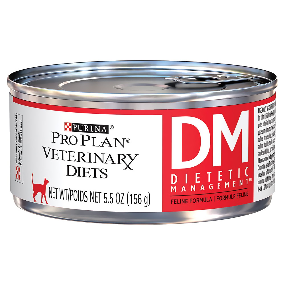 Purina Veterinary Diets Dm Dietetic Management Formula Canned Cat Food