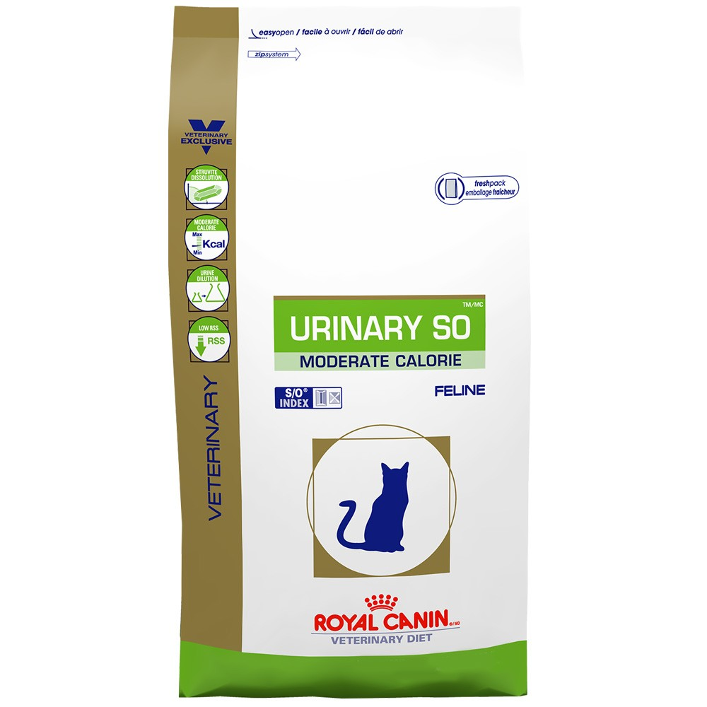 royal canin feline urinary so moderate calorie dry 17 6 lb. Black Bedroom Furniture Sets. Home Design Ideas