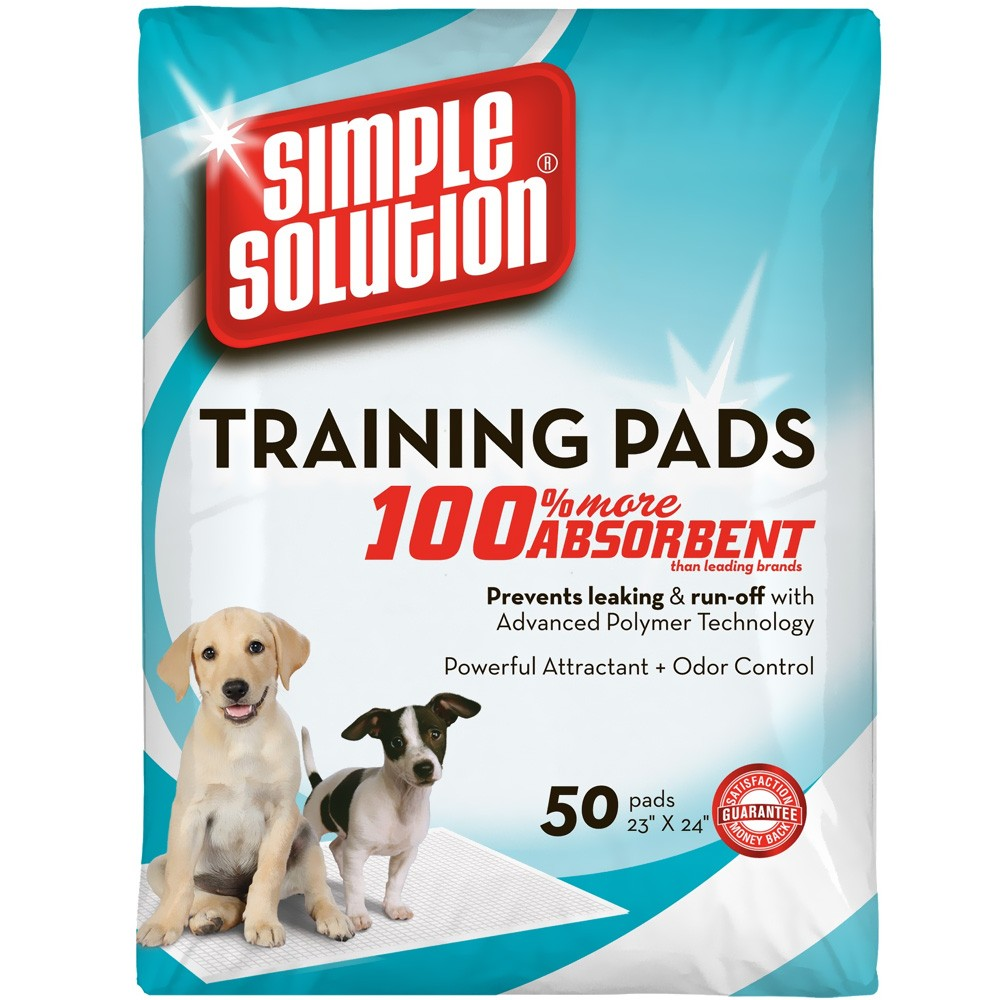 Simple Solution Training Pads (50 Pack) BRM13401