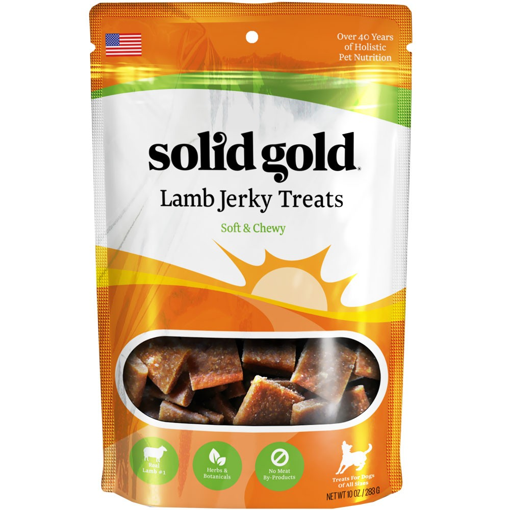 Solid Gold Lamb Jerky Dog Treats ( 10 oz) 6747036