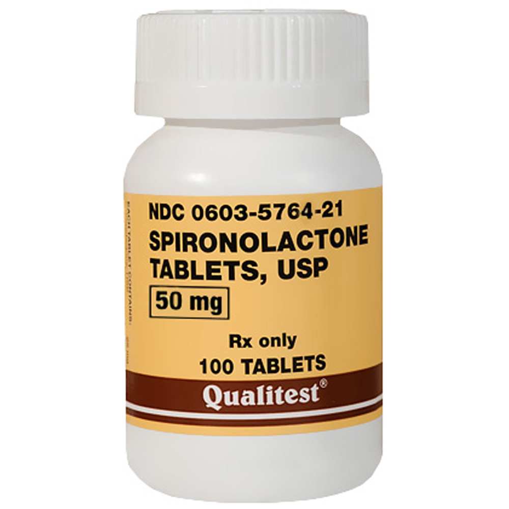 spironolactone 50mg per tablet manufacture may vary