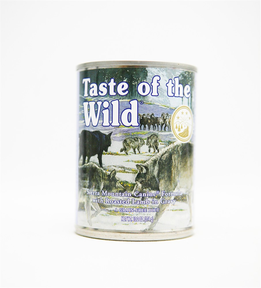 Taste Of The Wild Canned Dog Food Reviews