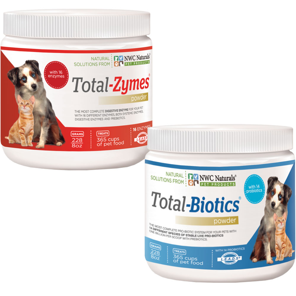 Total Digestive Solution (1 Total-Zyme 8oz & 1 Total-Biotics 8oz) BE227363