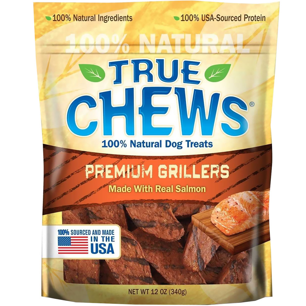 True Chews Premium Grillers - Salmon (12 oz) 000048