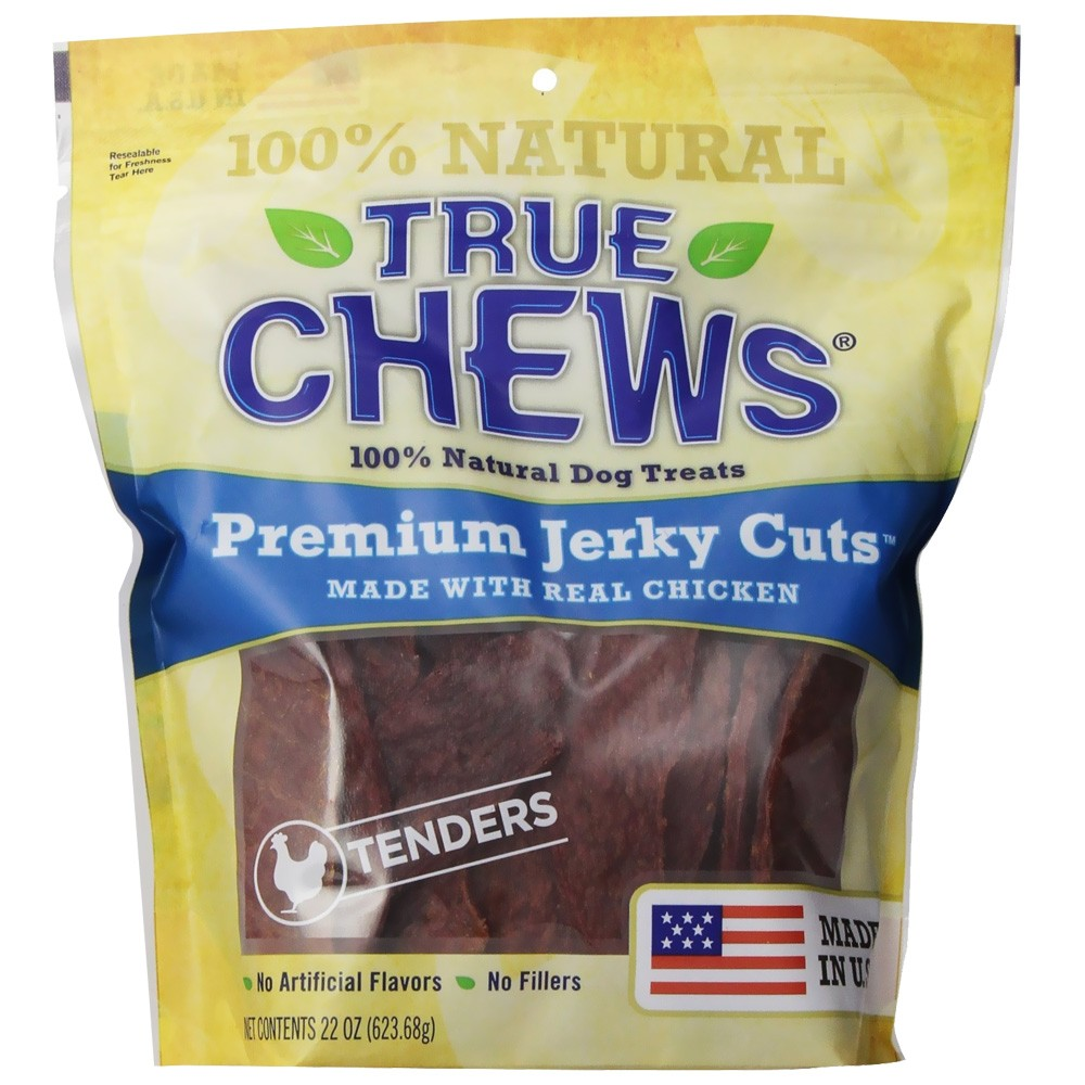 True Chews Premium Jerky Cuts - Chicken Tenders (22 oz) 24051