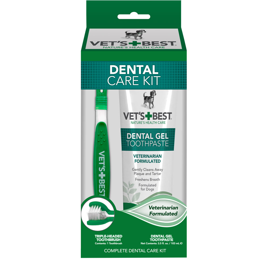 Vet's Best Dental Care Kit 3165810528