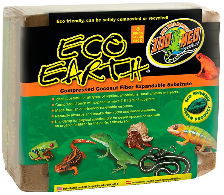 Zoo Med Eco Earth (3 Pack) EE-20