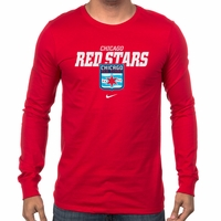 Men's Nike Chicago Red Stars LS Bold Tee - Red