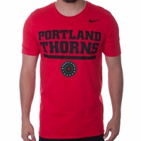 Men's Nike Portland Thorns FC Crest Tee - Red
