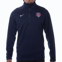 Men's Nike Washington Spirit 1/4 Zip Training Top - Navy