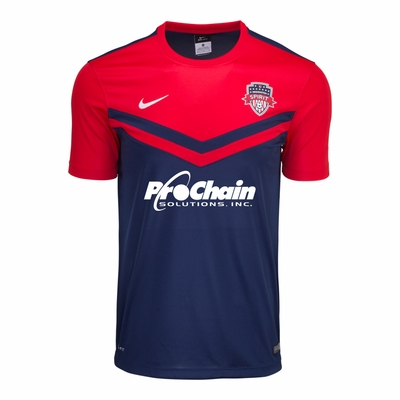 Men's Nike Washington Spirit 2016 Home Jersey - Click to enlarge
