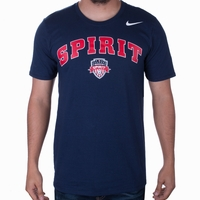 Men's Nike Washington Spirit Arched Tee - Navy