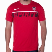 Men's Nike Washington Spirit Knock Out Legend Tee - Red