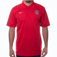Men's Nike Washington Spirit Varsity Crest Polo - Red