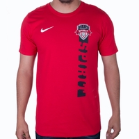 Men's Nike Washington Spirit Vertical Drop Tee - Red