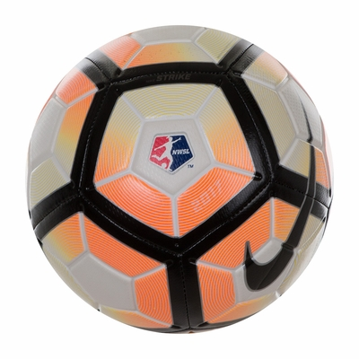 Nike NWSL Strike Soccer Ball - White - Click to enlarge