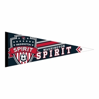 Washington Spirit 12x30 PQ Stripes Pennant