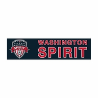 Washington Spirit 3x12 Bumper Strip - Navy