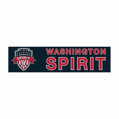Washington Spirit 3x12 Bumper Strip - Navy - Click to enlarge