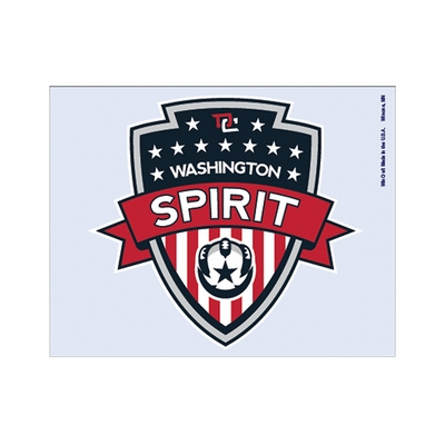 Washington Spirit Crest 5x4 Decal - Click to enlarge