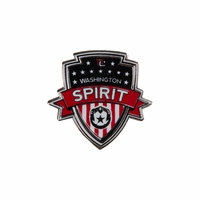 Washington Spirit Crest Lapel Pin