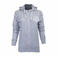 Women's Nike Houston Dash Gym Vintage FZ Hoody - Heather