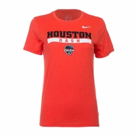 Women's Nike Houston Dash Legend Crest Tee - Orange