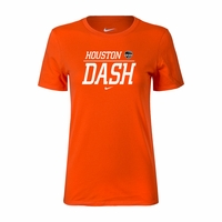 Women's Nike Houston Dash Split Tee - Orange