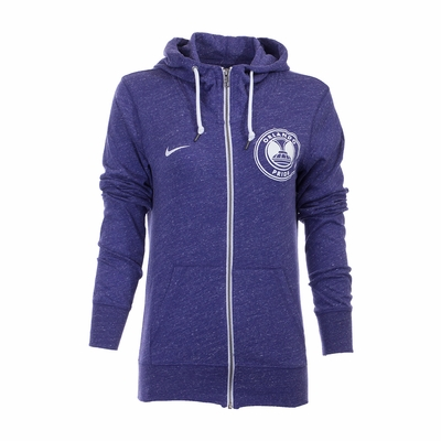 Women's Nike Orlando Pride Gym Vintage FZ Hoody - Orchid - Click to enlarge