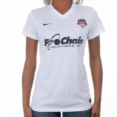Women's Nike Washington Spirit 2016 Away Jersey - Click to enlarge