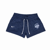 Women's Nike Washington Spirit Gym Vintage Shorts - Navy